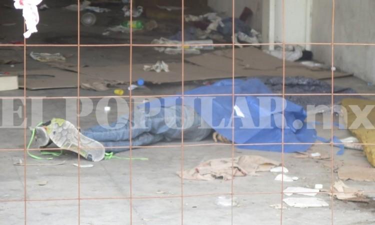 Hombre en situación de calle muere en bodega en la colonia Azcárate