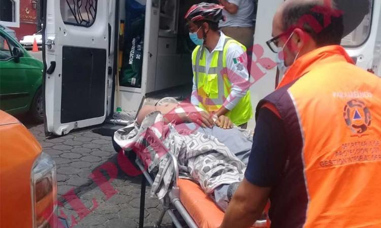 Trabajador sufre quemaduras por descarga eléctrica en Analco