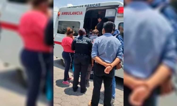 Quema de pirotecnia en Tepeaca deja cuatro heridos leves