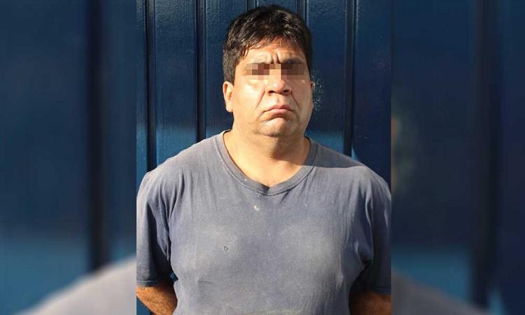 Detienen a sujeto por robo de tractocamión en la autopista México-Puebla