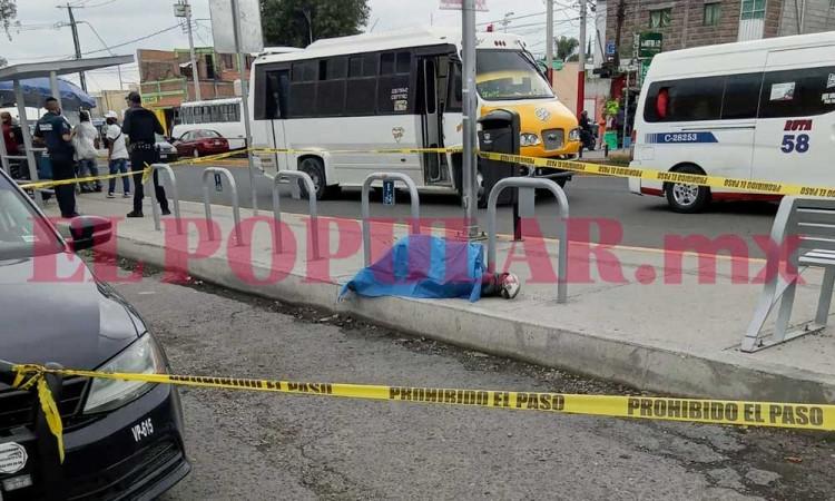 Muere hombre en situación de calle junto al mercado Morelos en Puebla