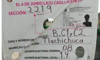 Balaceras en casillas de Tlachichuca