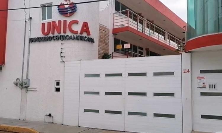 Balean Universidad Centroamericana en Texmelucan, propiedad de candidato de MC